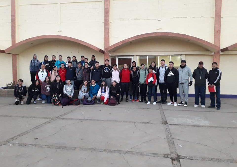 Selecciones representantes de Cananea en el regional de básquetbol de los juegos estatales deportivos 2020 en la ciudad de Agua Prieta