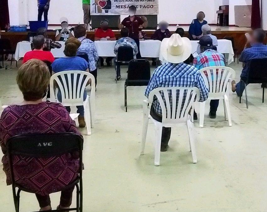 H. Ayuntamiento de Cananea, a través de La Dirección de Desarrollo Social, implementa junto con la Secretaría de Bienestar Social la estrategia de atención y entrega de apoyos a beneficio de los Adultos Mayores del Municipio y sus Comunidades.