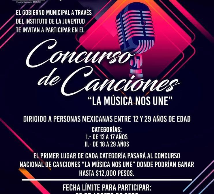 Los invitamos a participar en el Concurso de Canciones «La Música Nos Une»