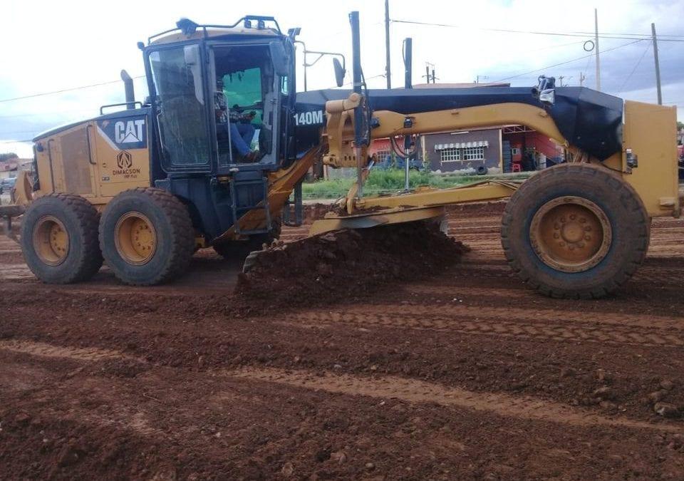 Seguimos con los trabajos de mantenimiento en caminos del municipio.