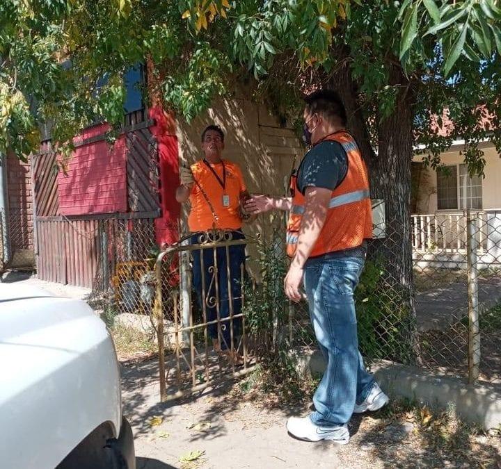 Realiza Proteccion Civil por instrucción del Alcalde jornada masiva de poda de árboles y arbustos que representan un riesgo para peatones, vehículos y vivienda. #LaCiudadDelCobre #CananeaFuerteVamos