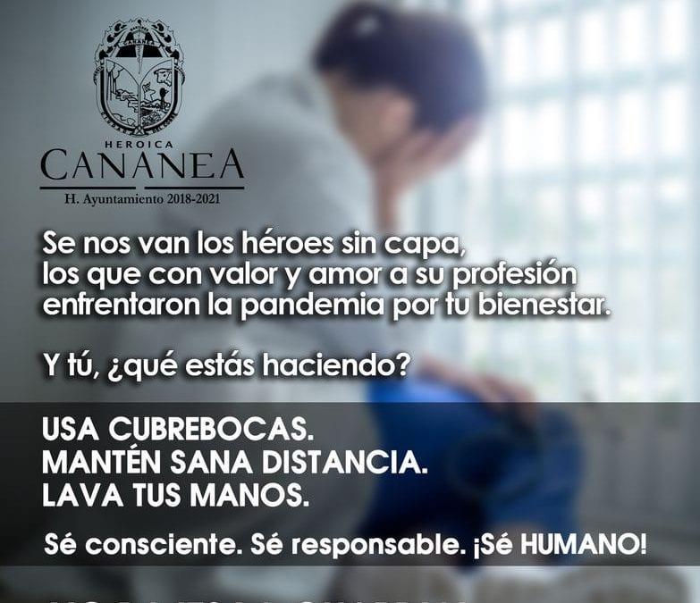 Seamos responsables, cuidemos de nuestra salud y de nuestros seres queridos.
