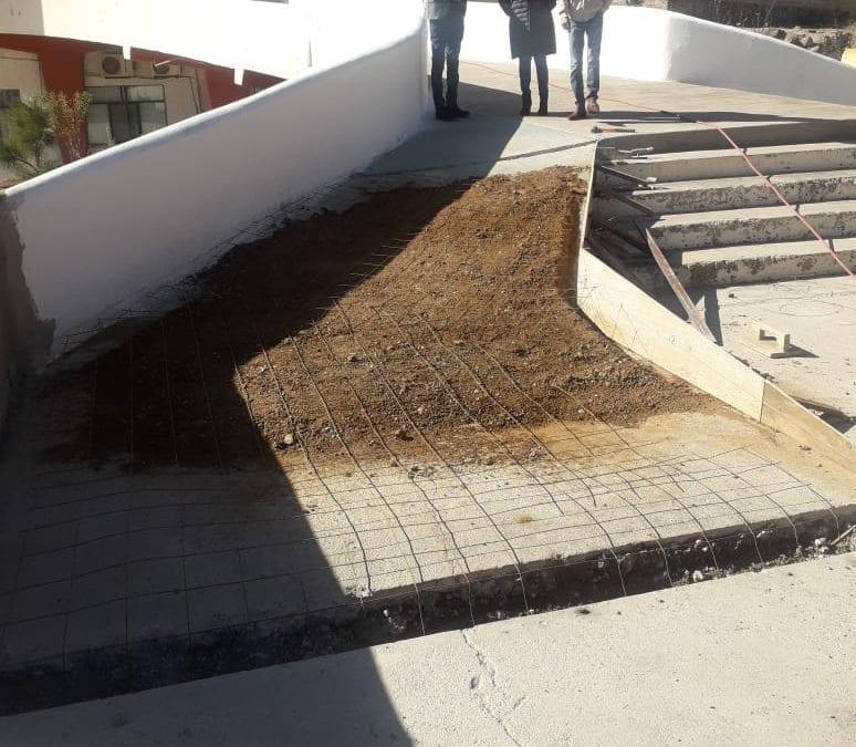 Trabajos de mejora en Casa de la Cultura «Luis Donaldo Colosio Murrieta».