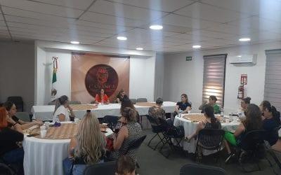 Arranca actividades el Voluntariado de DIF encabezado por la Primera Dama del Municipio, Griselda Brown de Quiroga.