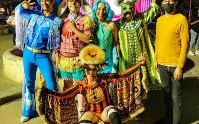 Entre risas y felicidad se presenció el día de ayer la obra «DesCierto Cabaretito» de La Cachimba Teatro A.C.